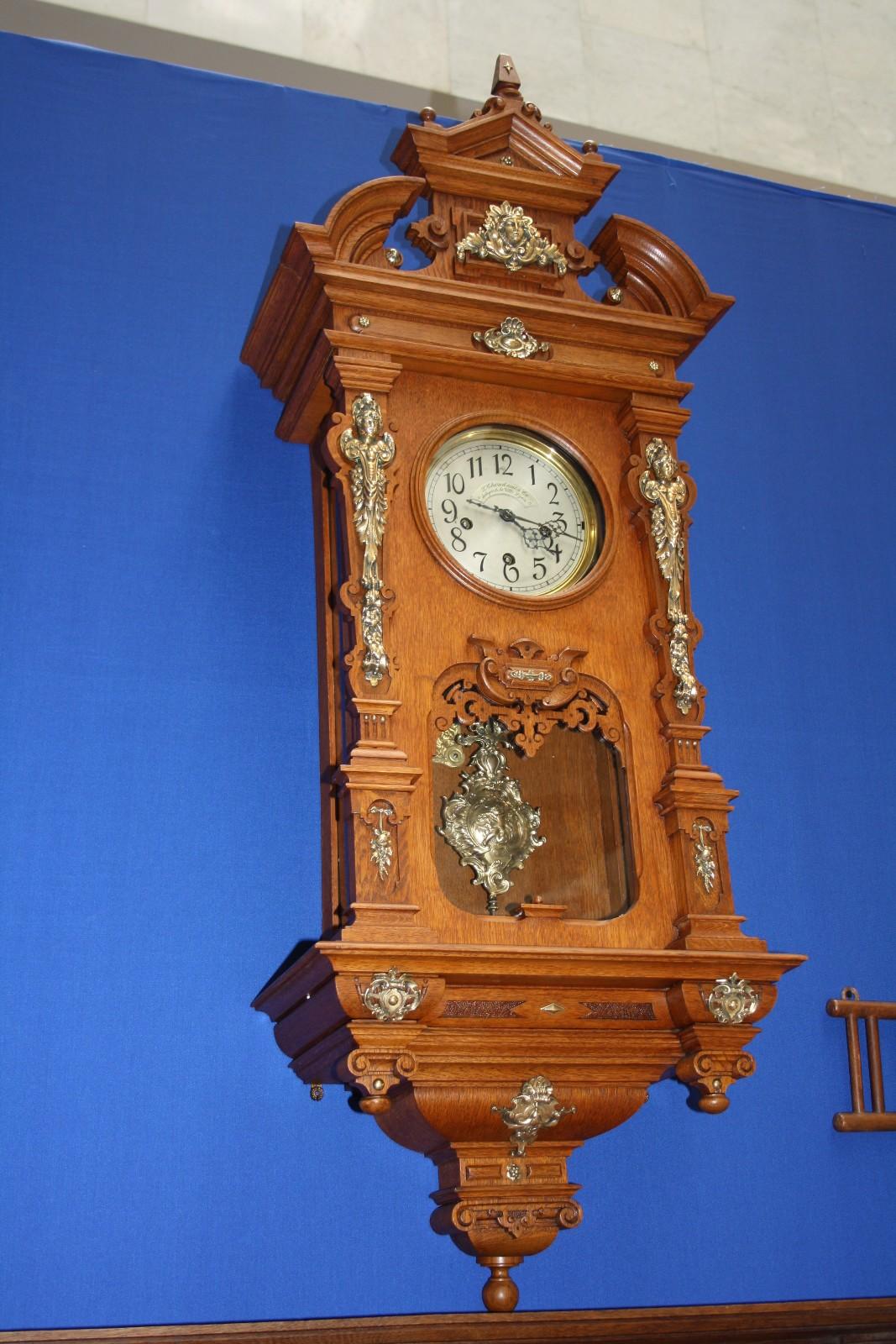 Ремонт старинных часов с боем своими руками